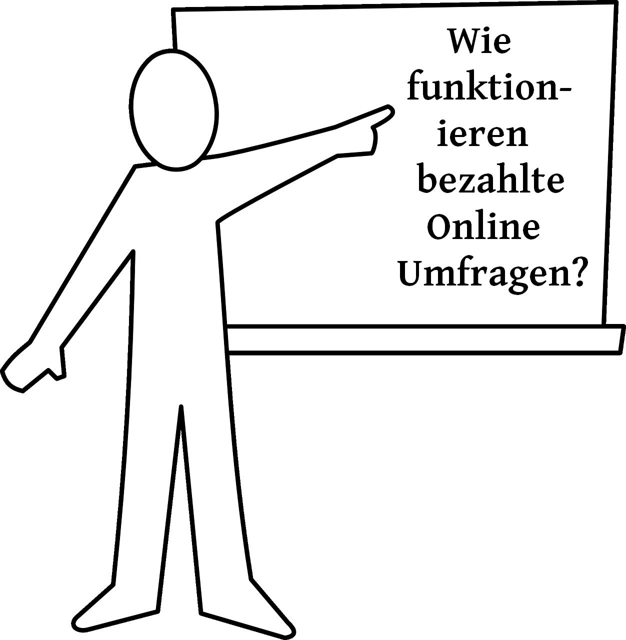 Online Umfragen Teilnehmen